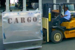 photo of cargo container