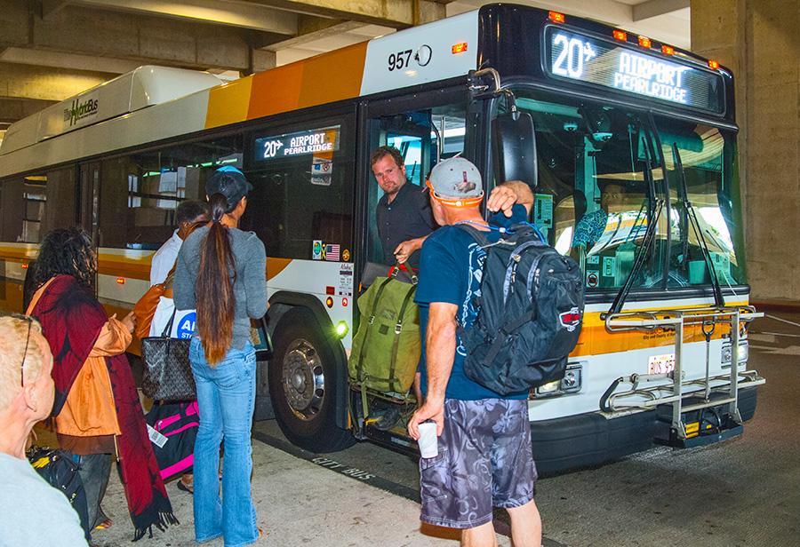 Daniel K. Inouye International Airport | The Bus