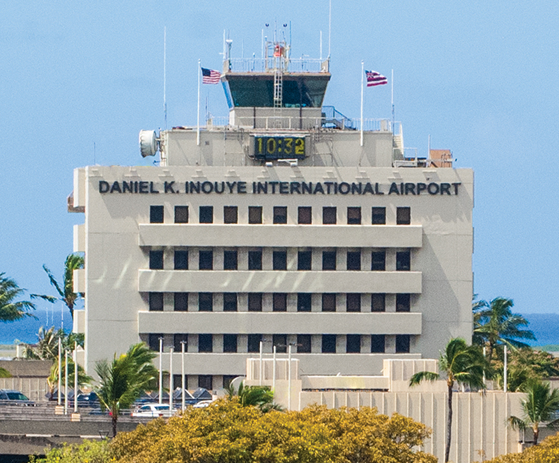 HNL tower