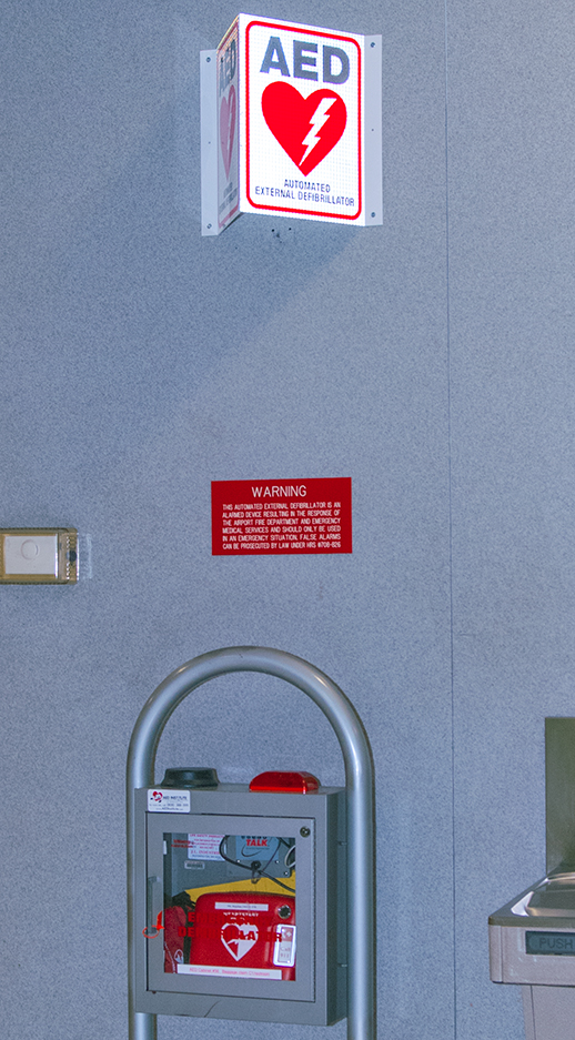 c5d8b20022bae1 Automated External Defibrillators (AED) AED installation