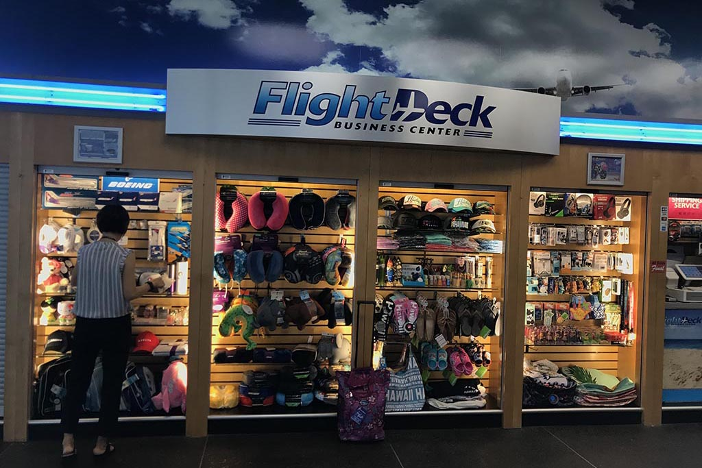 FLIGHT DECK Open daily 7:00 am – 2:30 pm