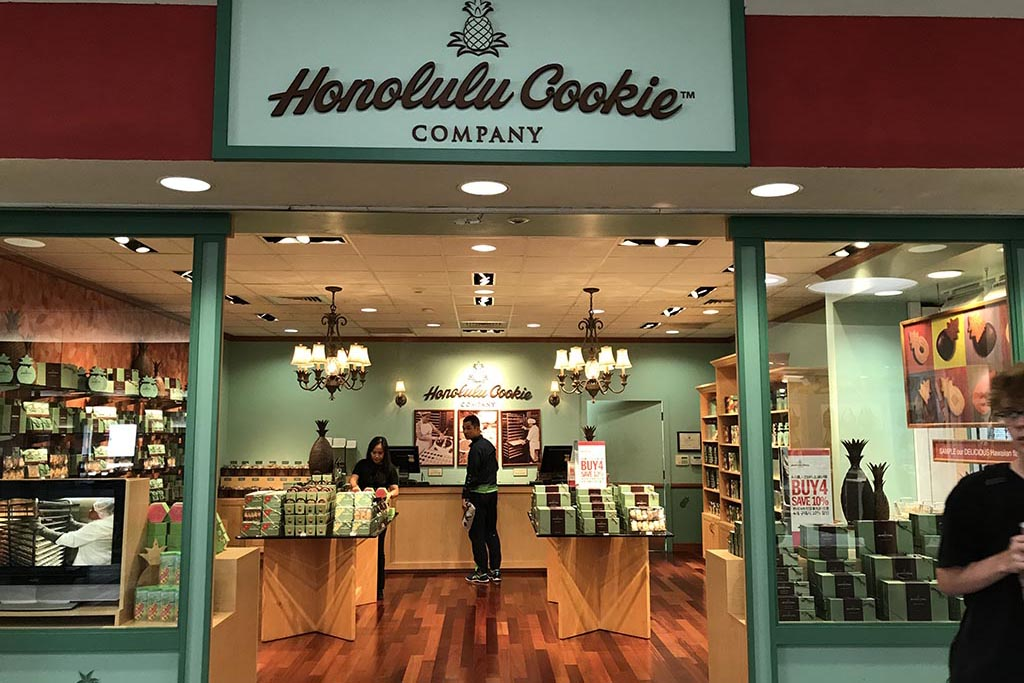 Honolulu Cookie Company Open daily 7:30 a.m. – 3:15 p.m.