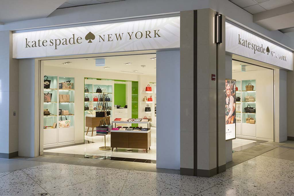 Kate Spade New York We believe that the start of every great outfit–and adventure–begins with the perfect handbag that let's you get carried away.  Open daily 7:00 a.m. – 3:00 p.m.