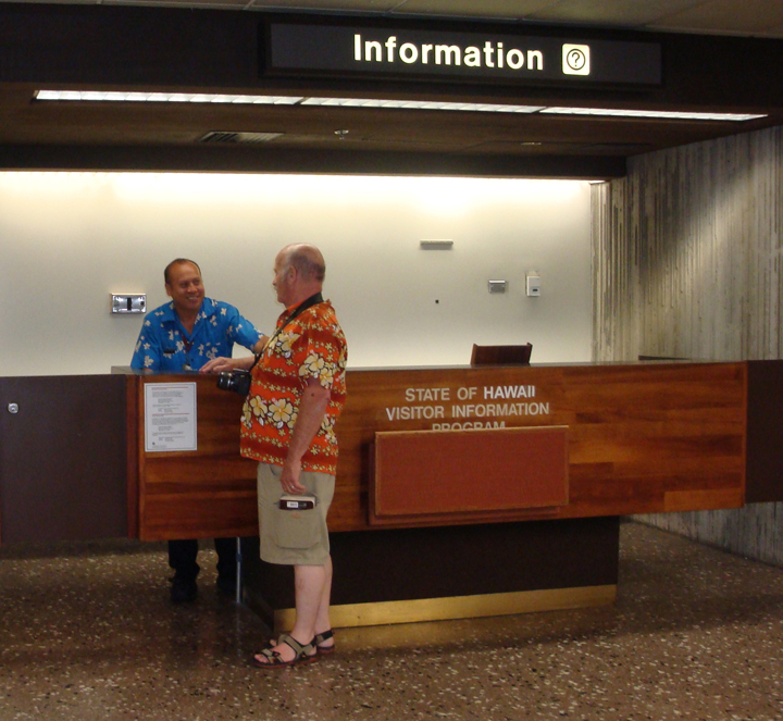 Visitor Information Booth