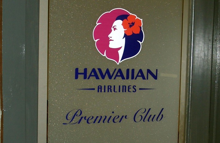 Hawaiian Air Premier Club at Hilo
