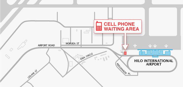 Yvr cell phone waiting area