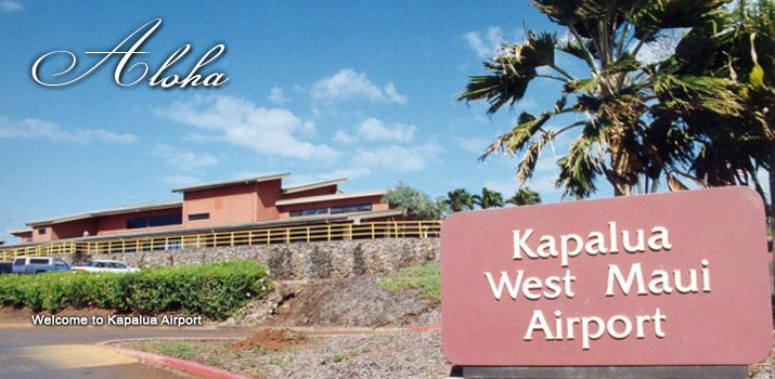 Kapalua Airport is located on the west side of the Island of Maui a short distance from the resort destinations of Kaanapali and Lahaina.