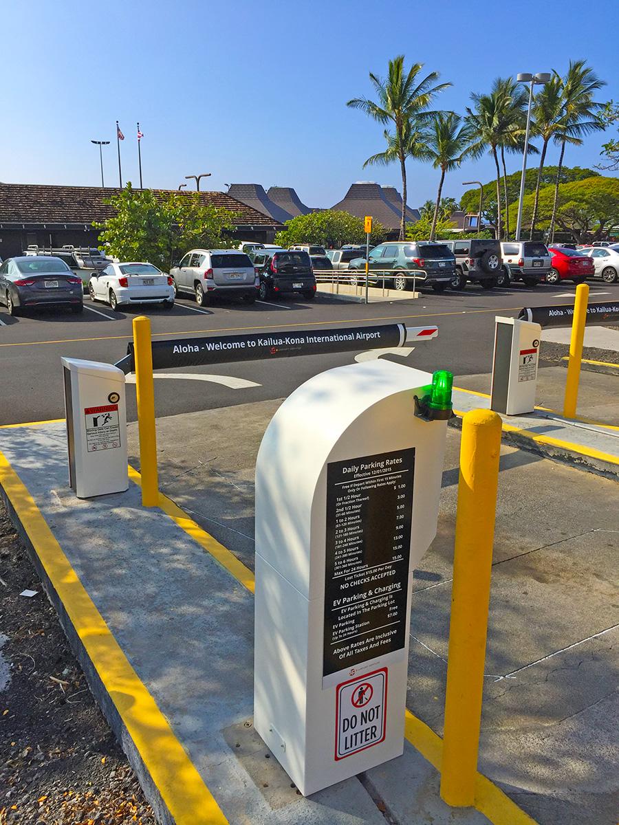 Ellison Onizuka Kona International Airport At Keahole Parking