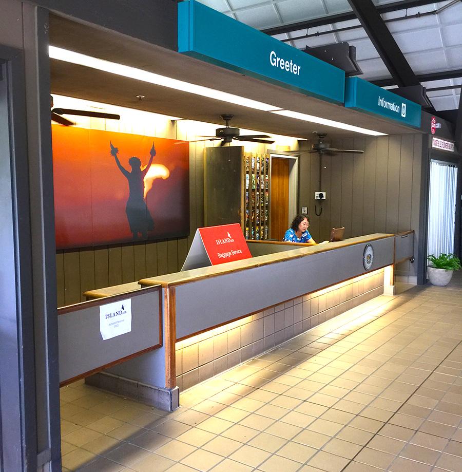 Ellison Onizuka Kona International Airport At Keahole Visitor