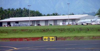 Lihue Airport Cargo Facilities