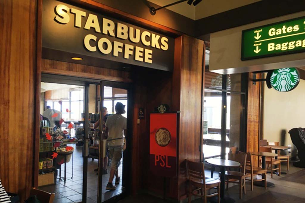 Offers espresso based drink, brewed coffees and frappuccinos in addition to premium teas, fine pastries and other delectable treats to please the taste buds.  Open daily 5:30 a.m. – 9:30 p.m.