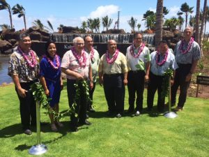 Kahului Airport Access Road blessing ceremony