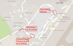 Kahului Hawaii Map.Kahului Airport New Airport Access Road To Improve Traffic And